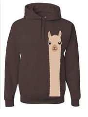 Alpaca Watching Sweatshirt