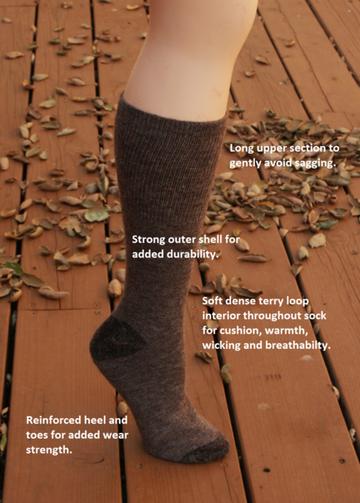 american made alpaca socks