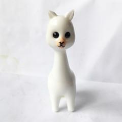 Murano Glass Alpaca Figure