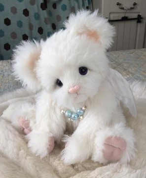 OOAK alpaca teddy bear