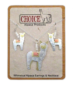whimsical-alpaca-necklace-and-earrings