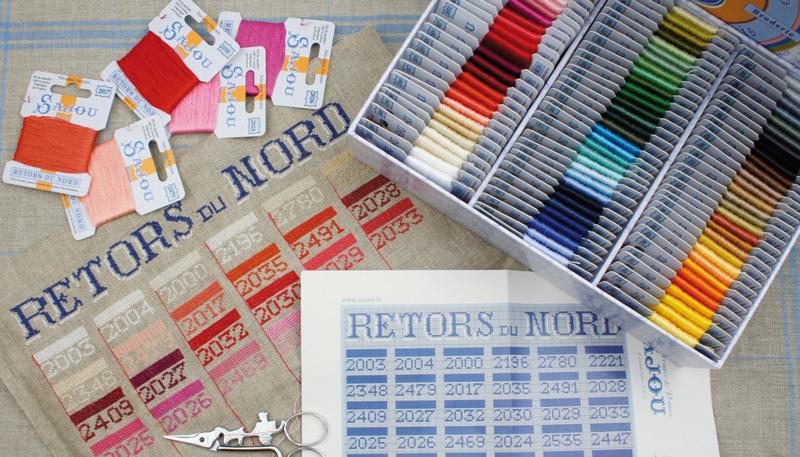Sajou Retors du Nord embroidery flood