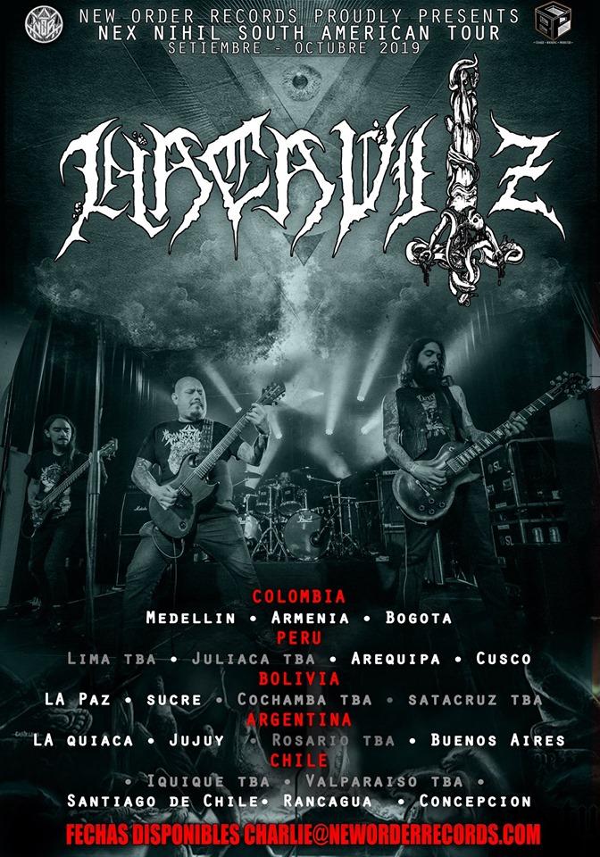HACAVITZ South American Tour 2019!!!