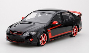 New Apex Replicas FPV GT R Spec Black With Red Accents Ford 1:18 AR80606
