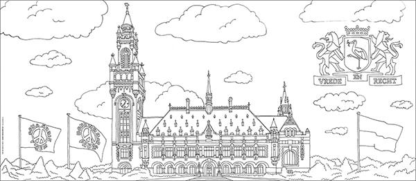 Onwijs Haags Eindejaarskado Haagse Megakleurplaten