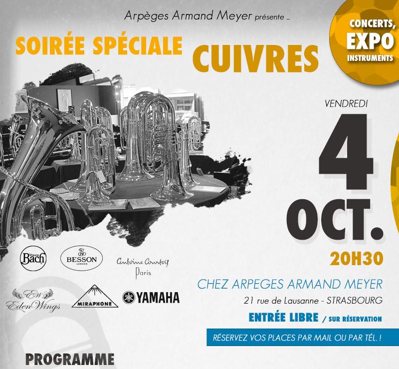Inscrivez-vous au concert du 4 Octobre 2013
