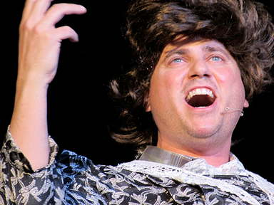 Randy as Susan Boyle