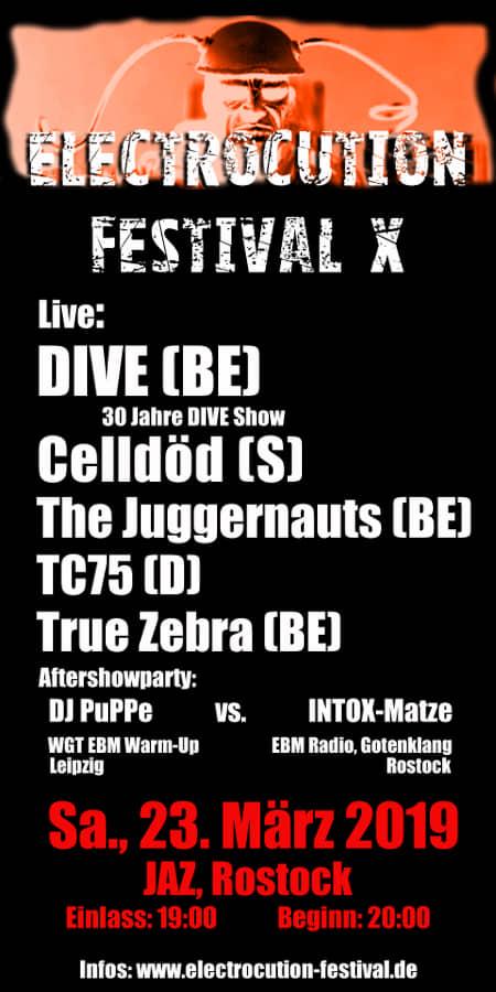 23.03 Electrocution Festival X