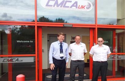 Robin Walker MP Visits CMCA(UK)