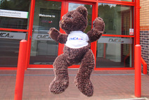 Brindley the CMCA(UK) mascot